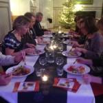 Kunnallisjärjestön joulujuhla 2013 senioreiden pöytä
